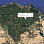 Map Showing location of Tell El-Samara by Luxor Times