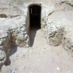 Rock-cut tomb entrance discovery in Lisht by Luxor Times 01